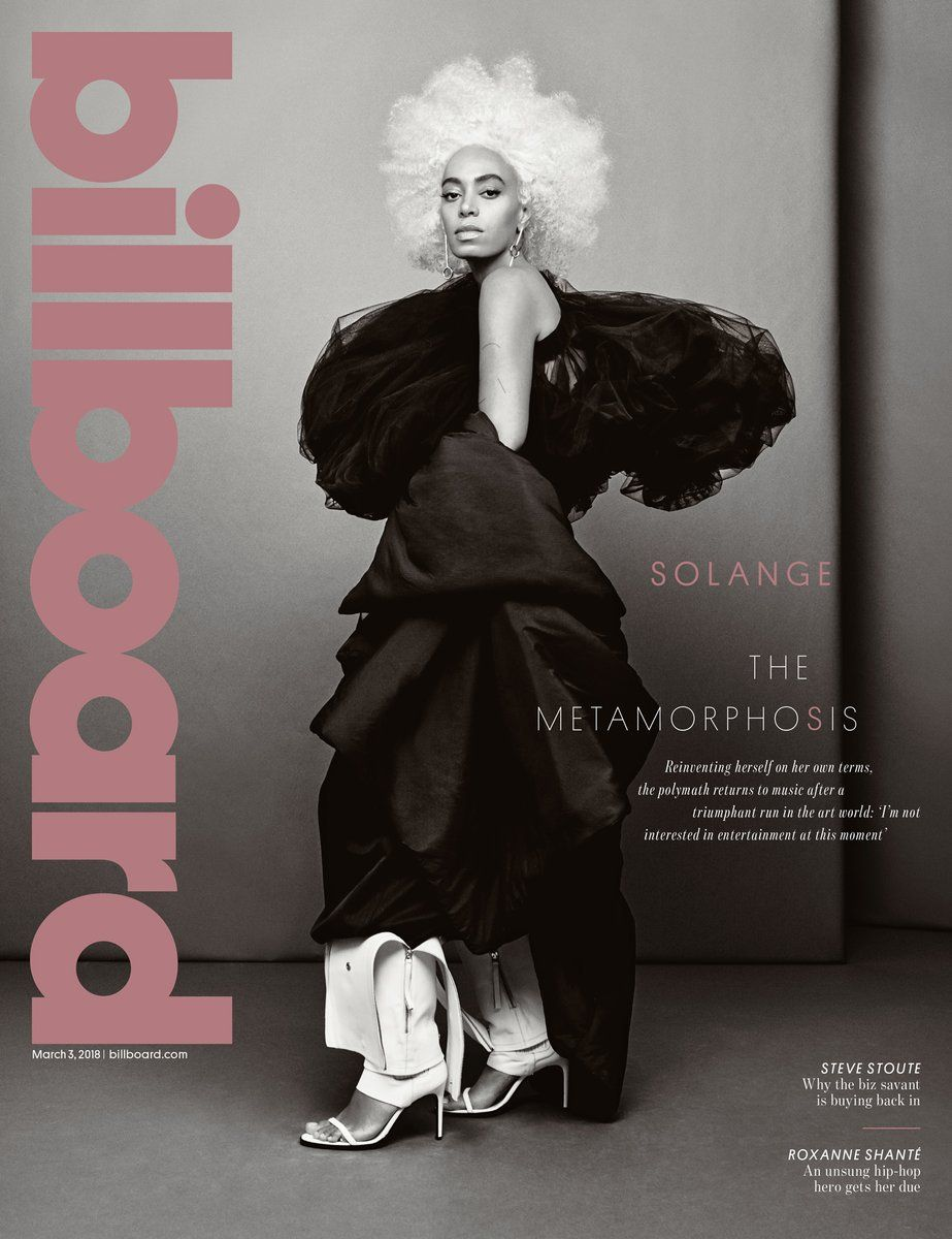 Solagne for Billboard Magazine Hair by Neal Farinah