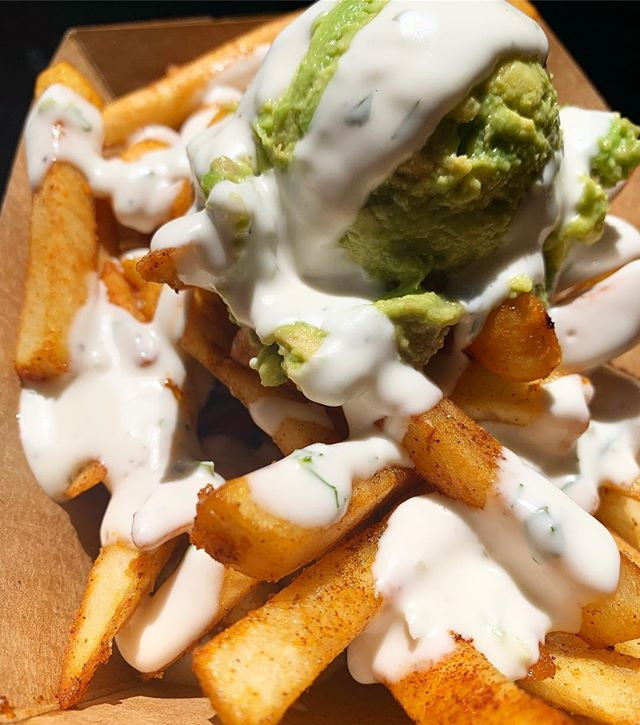 It was a hot one today! 🥵 We stayed cool with some Avocado 🥑 Ranch 🍟 #vegan 🌱 @melrosetradingpost . . . #avocado #fries #hot #summer #sunday #sundayfunday #vintage #shopping #food #foodie #foodblogger #veganfood #plantbased #comfortfood #veganfriendly #popup #restaurant #weekend #fun #menu #creative #cooking #food #madewithlove #nomnom #losangeleseats #la #melrose #hollywood