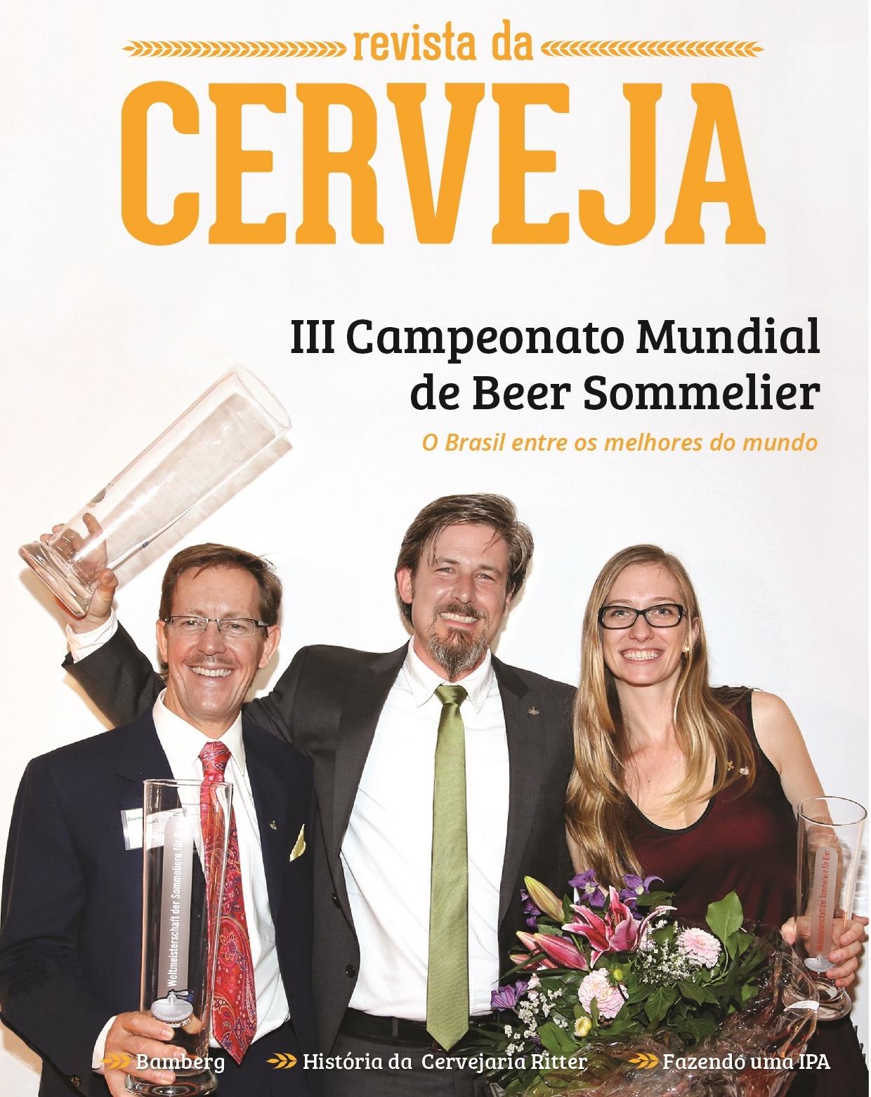 Beer Sommelier Donald G. Lindsay Vizeweltmeister 2013