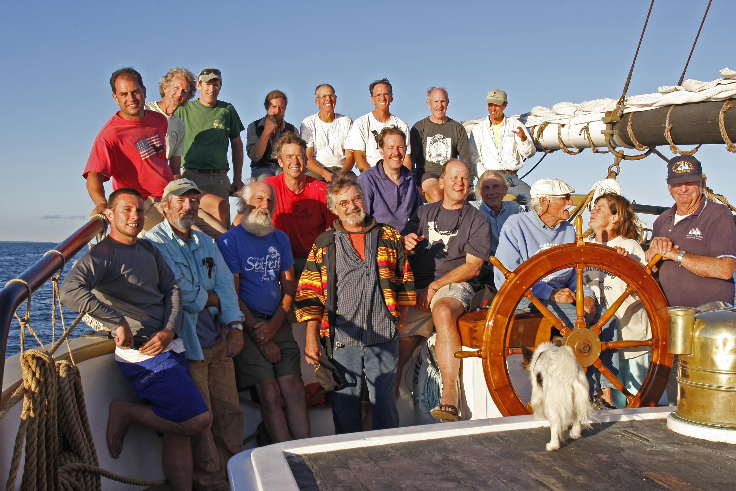SHENANDOAH - reunion sailing crew