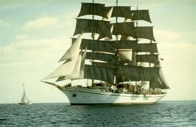 SEA CLOUD - The barque was built in 1931 for Majorie Merriweather Post and her husband Edward F. Hutton