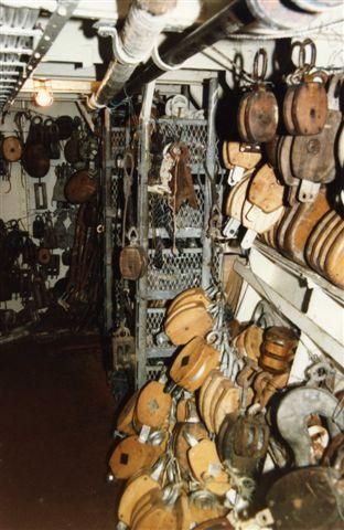 SEA CLOUD - sailing gear storeroom