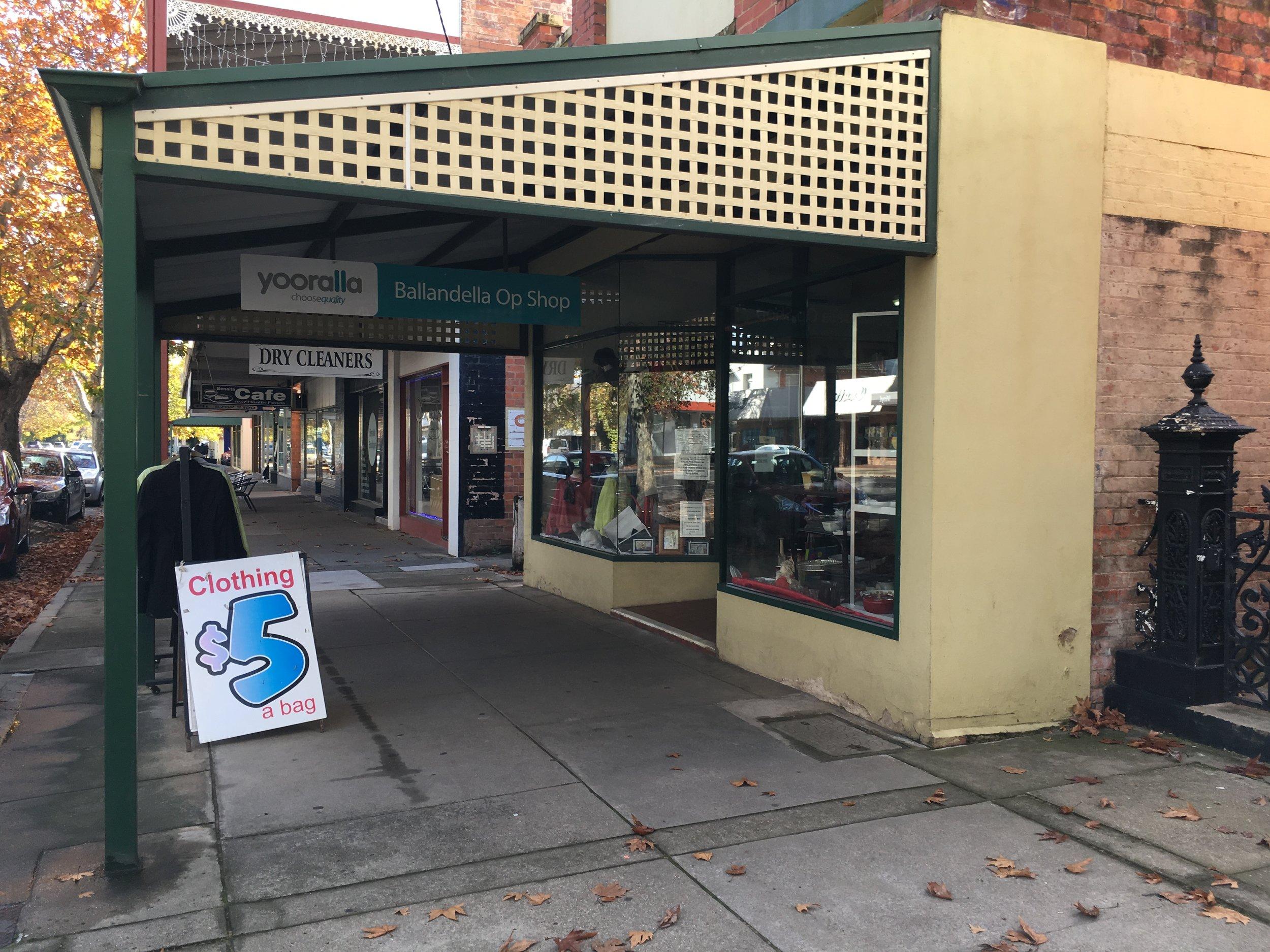 Ballandella Op Shop 73 Nunn Street Benalla