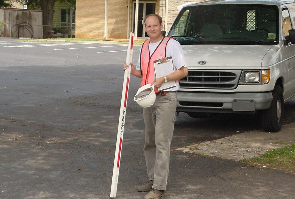 A&O President Ted Bartelt, PE, at the end of a long week of Bridge Inspection in 2000
