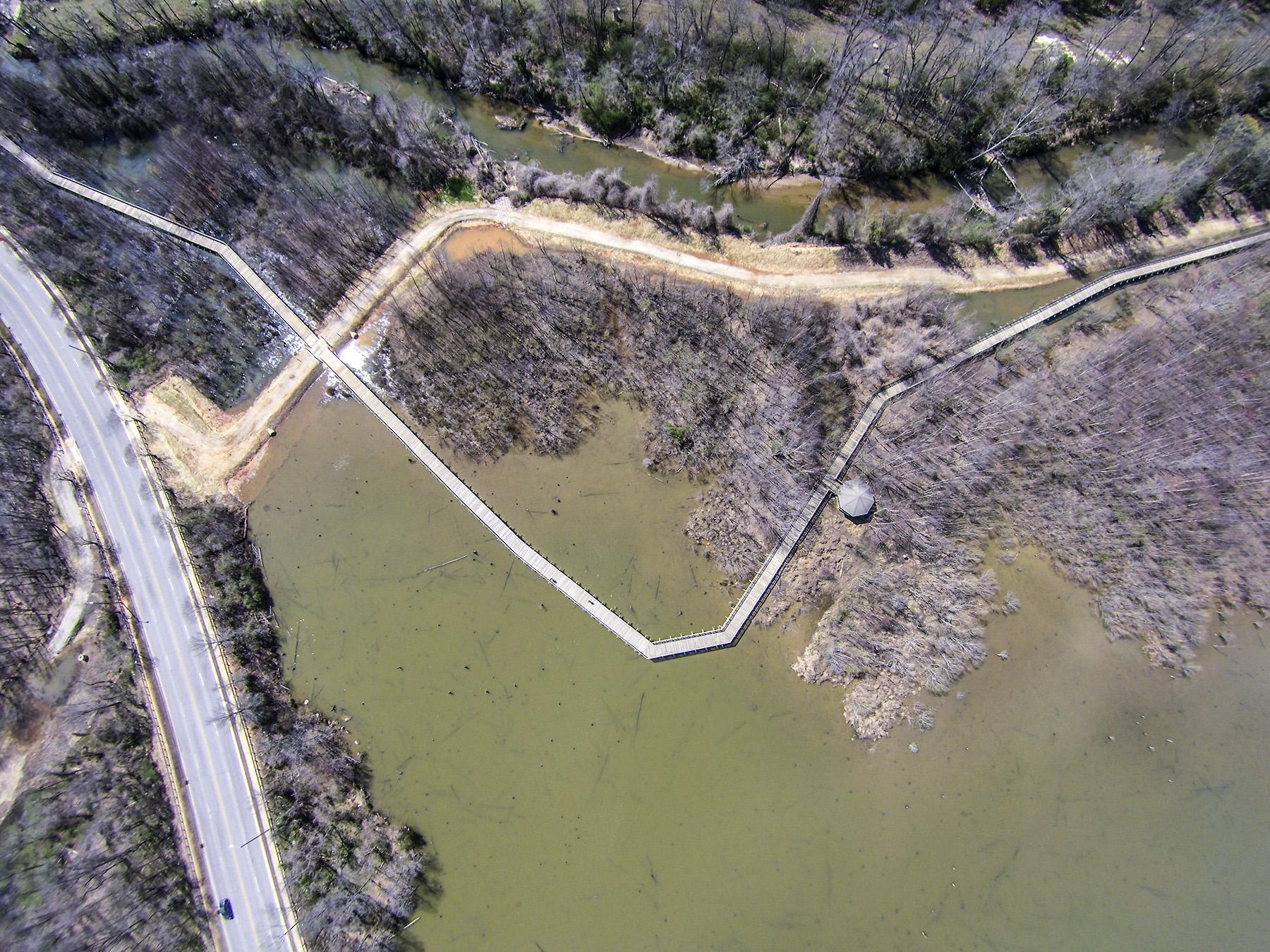 Crabtree Creek Trail Bridge 104