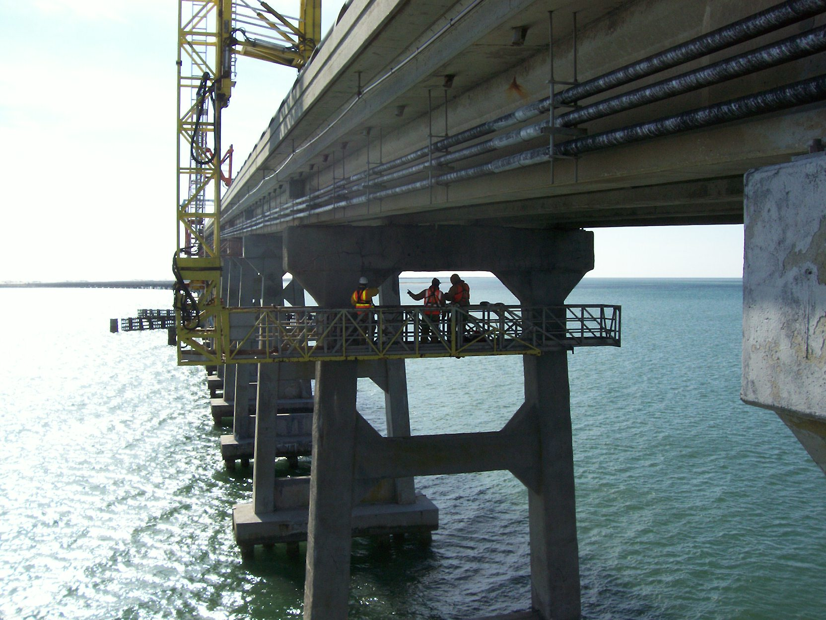 A&O inspected the 1963 Bonner Bridge in 2006 and designed repairs to stabilize it until a new bridge could be constructed.