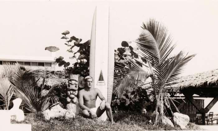 Legendary surf explorer Peter Troy