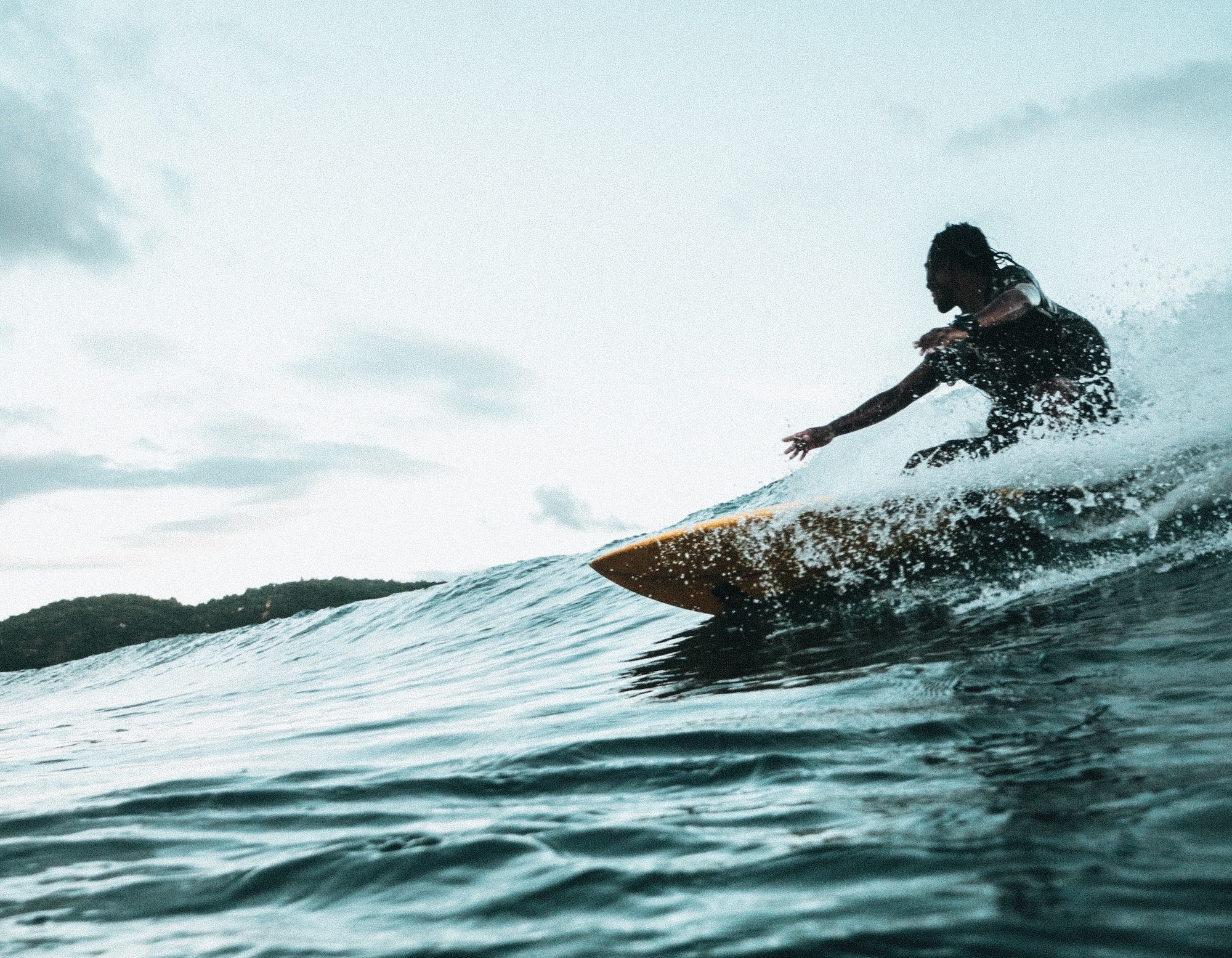 Surf empty, perfect waves in paradise -