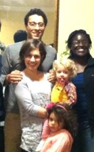 Ashley Mejias and Family