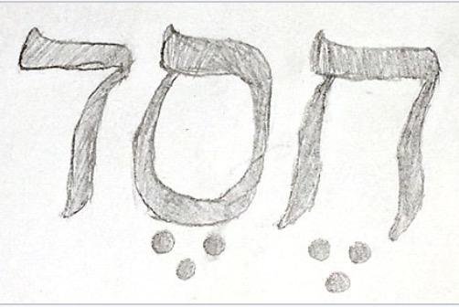 Hebrew Word: Hesed - loving kindness, mercy