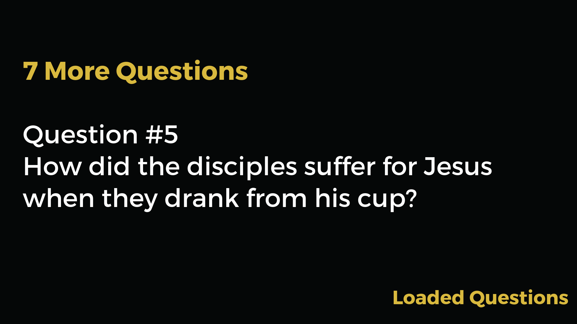 bible study fellowship questions download