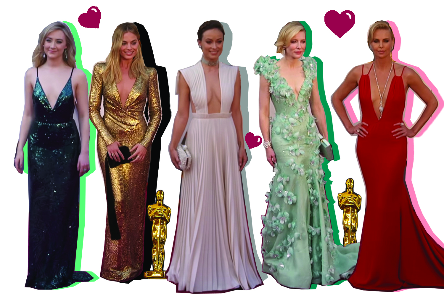 collage designed by    stephanie haller     |  photo credit: E Red Carpet Show