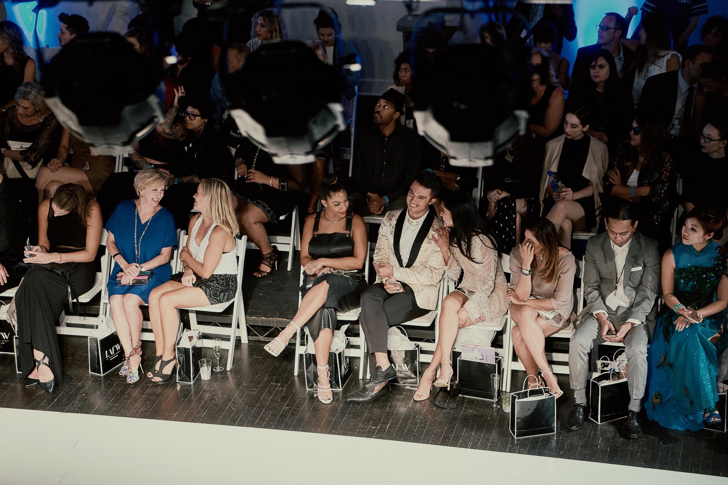 Front Row with Tiaan & Rigel Gemini