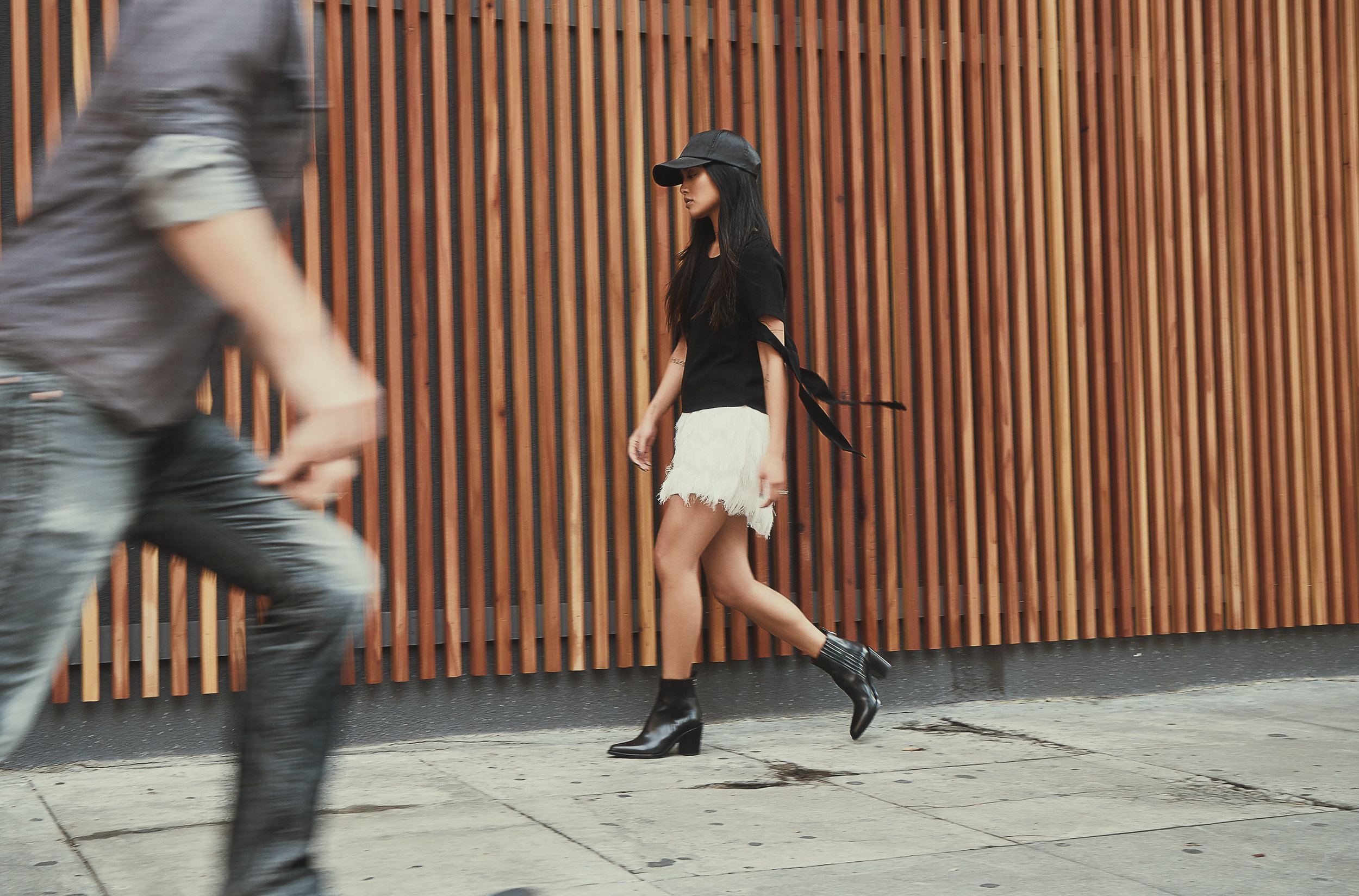 delphine top  |  art dept. skirt  |  sartore boots  |   photos by sean martin
