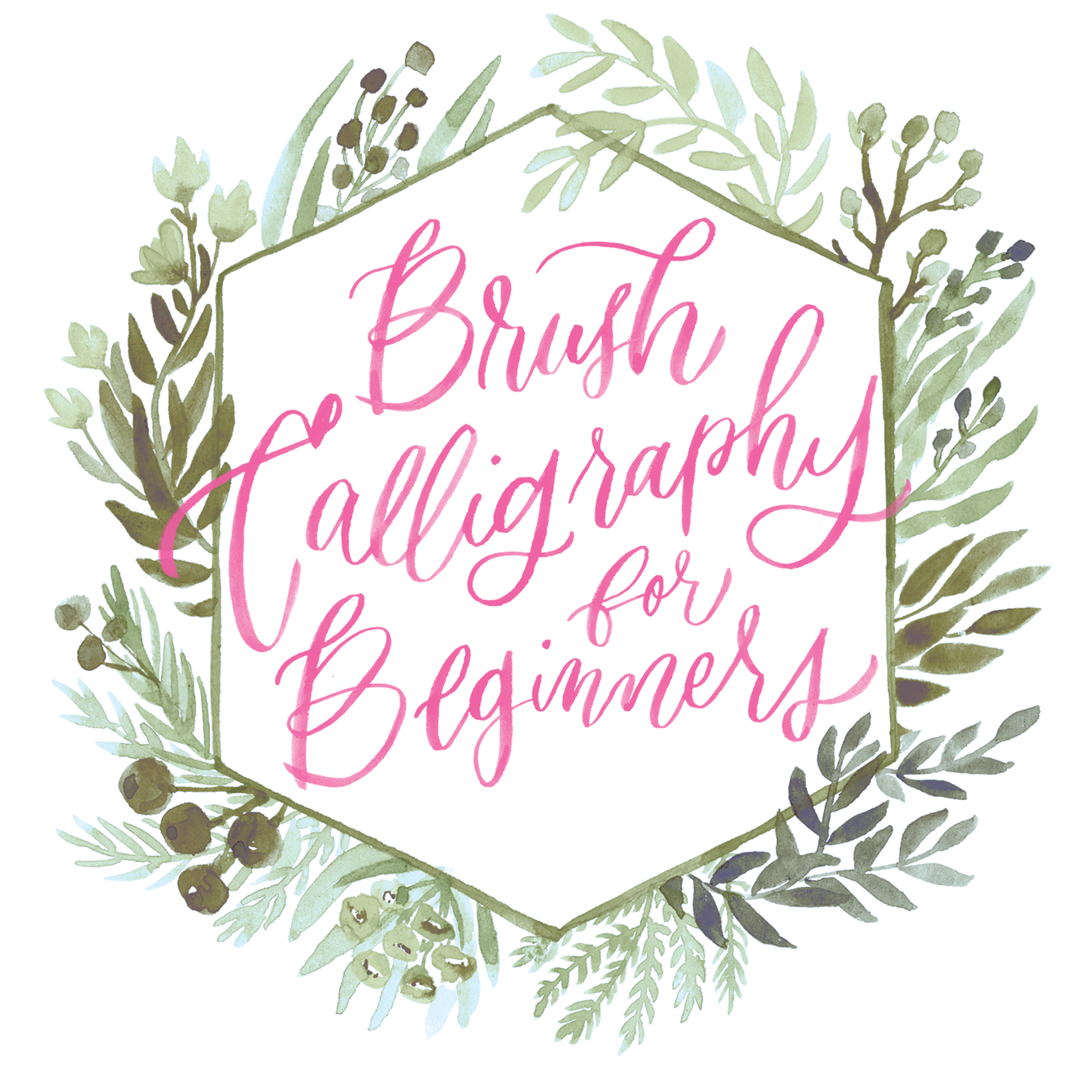 Brush Calligraphy Supplies for Beginners