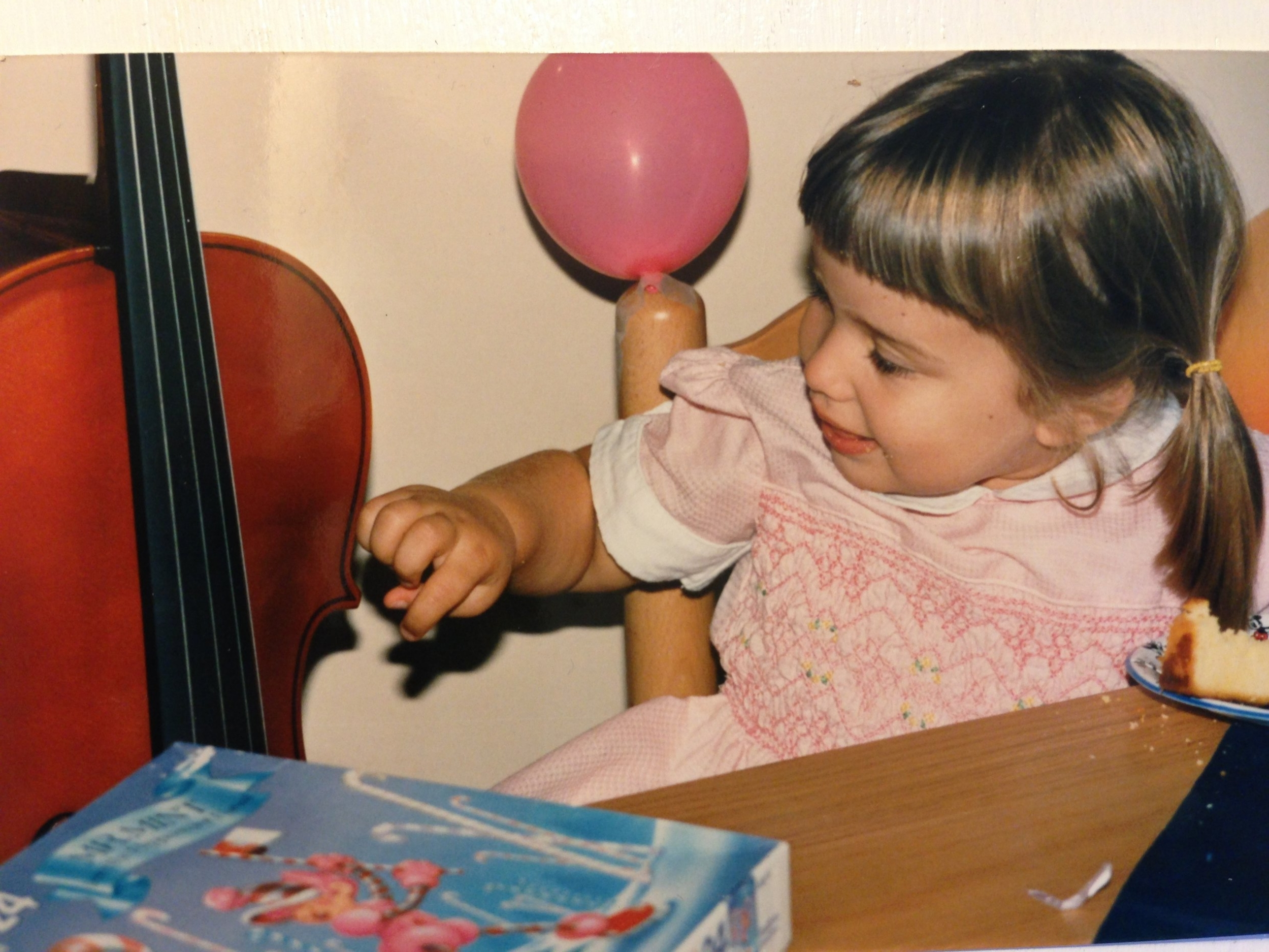 Rachel at her 4th birthday