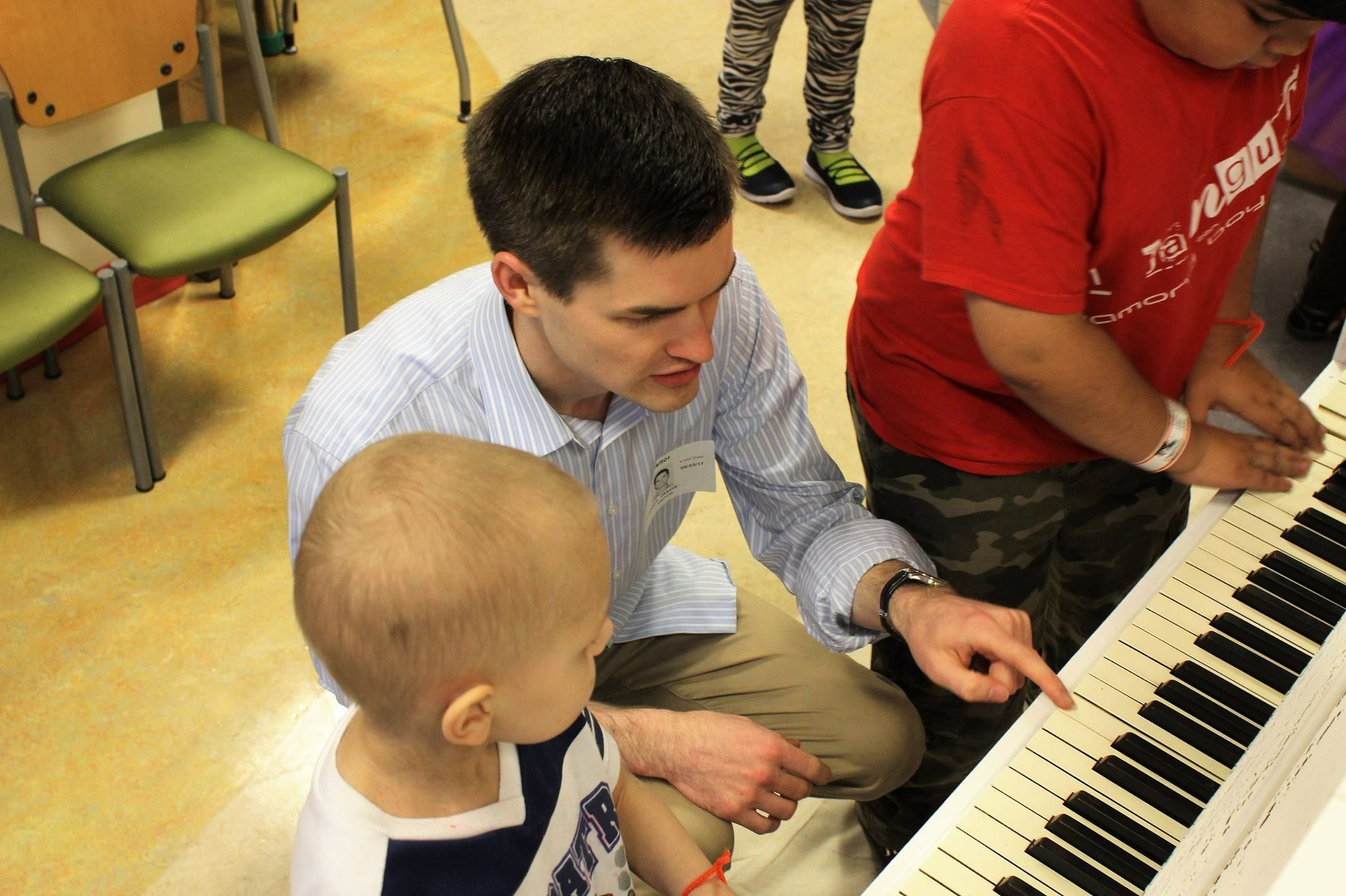 Piano donation to Children's National Medical Center