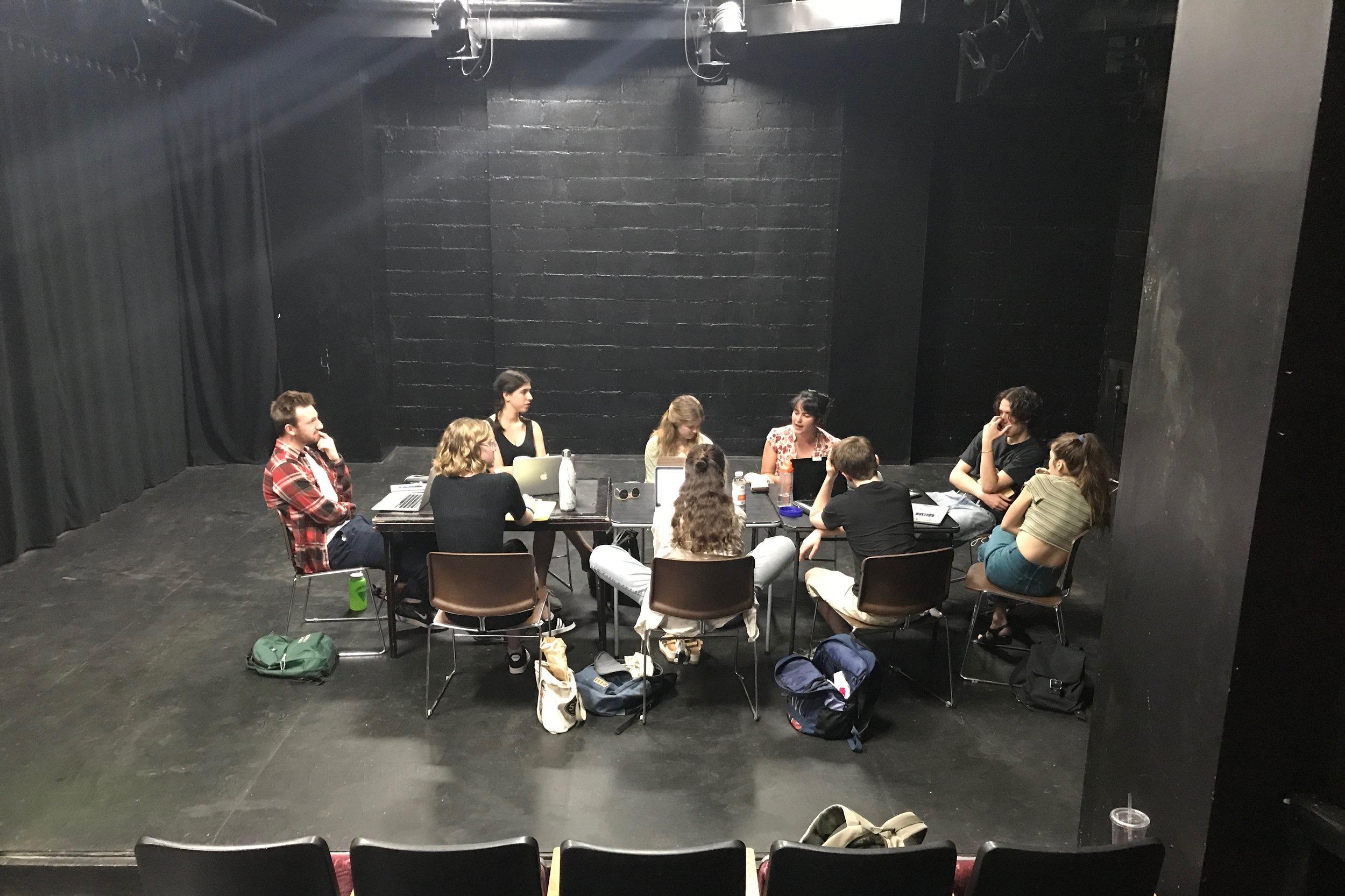 Lightbulb Reading Series - IRT Theater