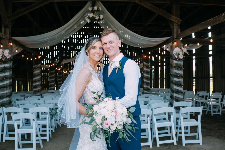 Michelle + Cody's Farm Wedding
