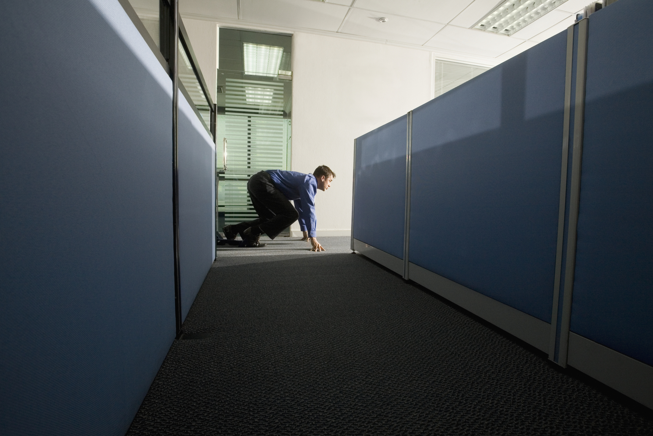 Feel the need to sneak in or out of the office? You might not be independent.