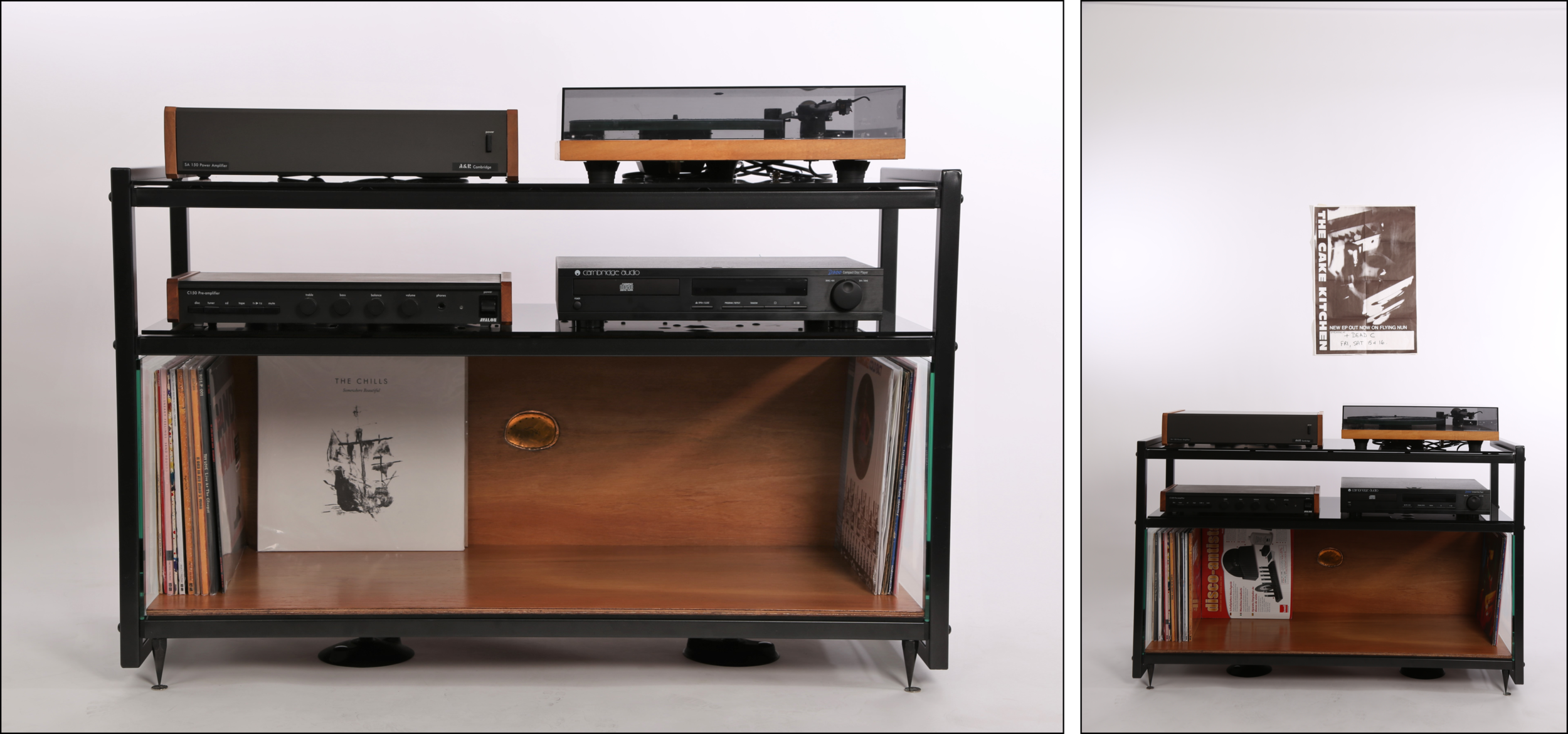 STEREO RECORD STORAGE UNIT
