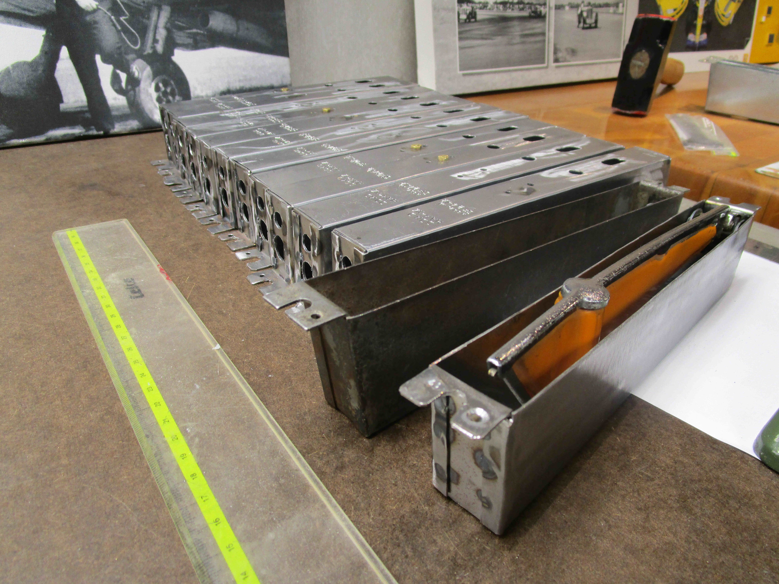 First production batch panel steel to original gauge.