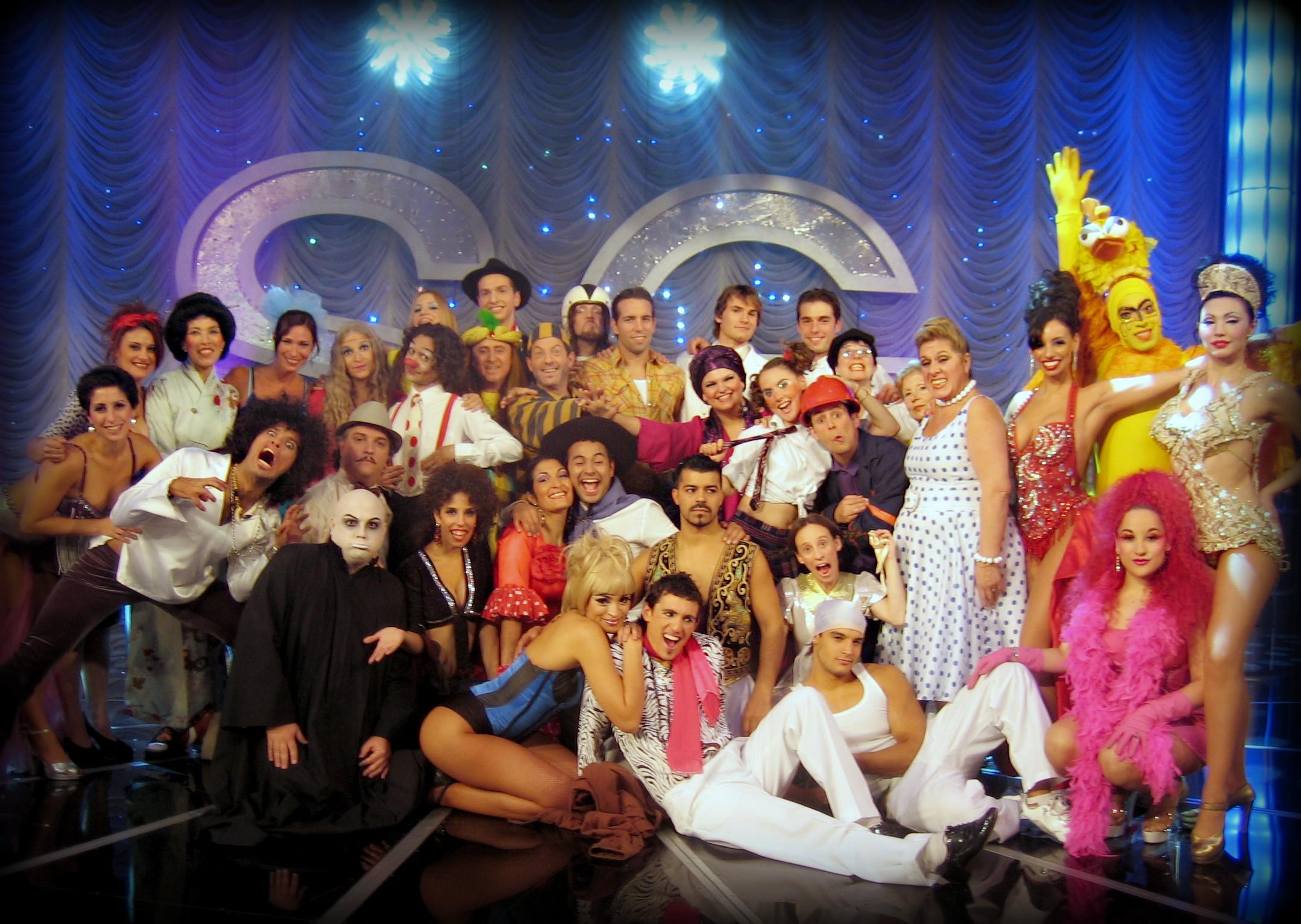 "TV Show ""Susana Gimenez"". Argentina 2007"