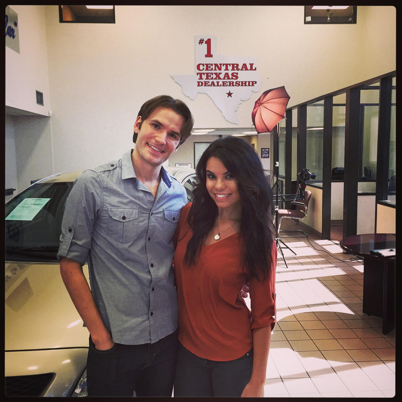 Shooting Commercial for Texas Auto Center, 2014