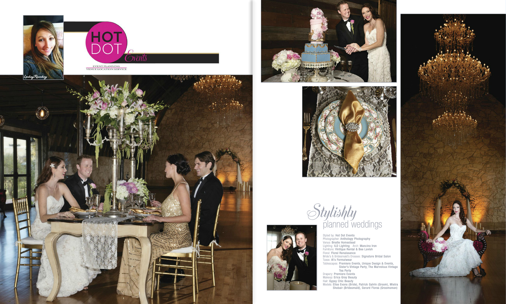 "Gerard Flores in ""Austin Wedding Magazine"""