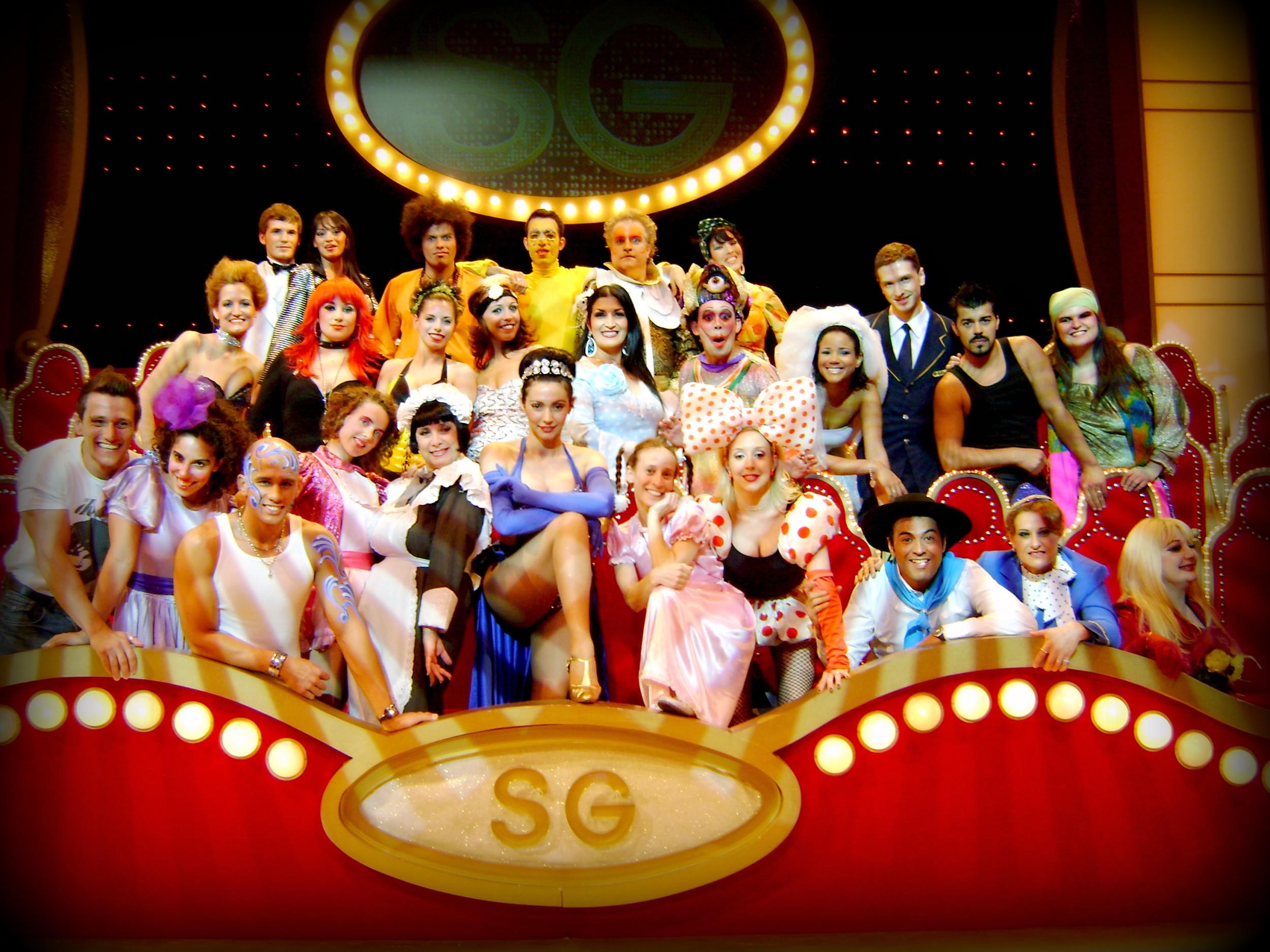 "TV Show ""Susana Gimenez"". Argentina 2008"