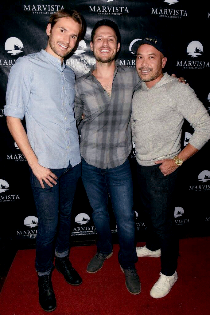 "Premiere of the movie ""The Good Nanny"", with director Jake Helgren and Friend."