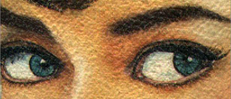 Audrey's Eyes!