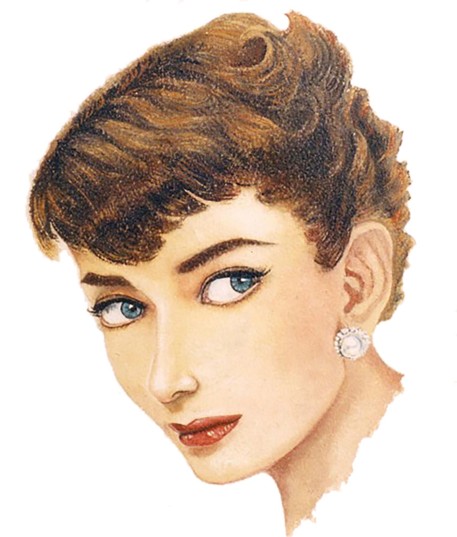 Audrey Hepburn - Detail