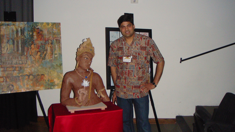Bodhisattva Padmapani at Sangama Seminar