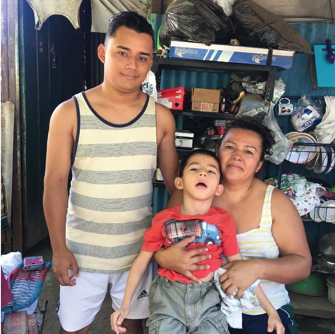 Maria Bermudez and Fernando Vaquerano's Family
