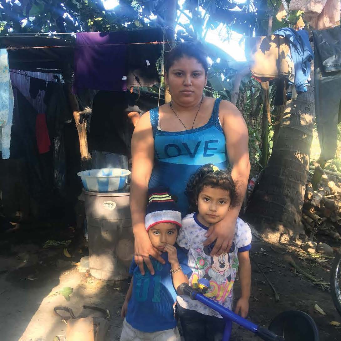 Maria Flores and Juan Majano's Family