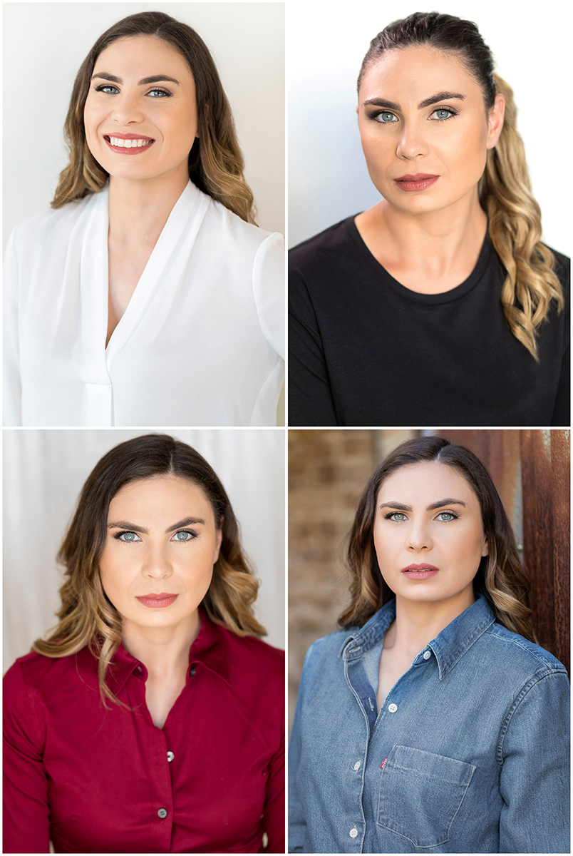 Beautiful professional actor headshots do get you work.