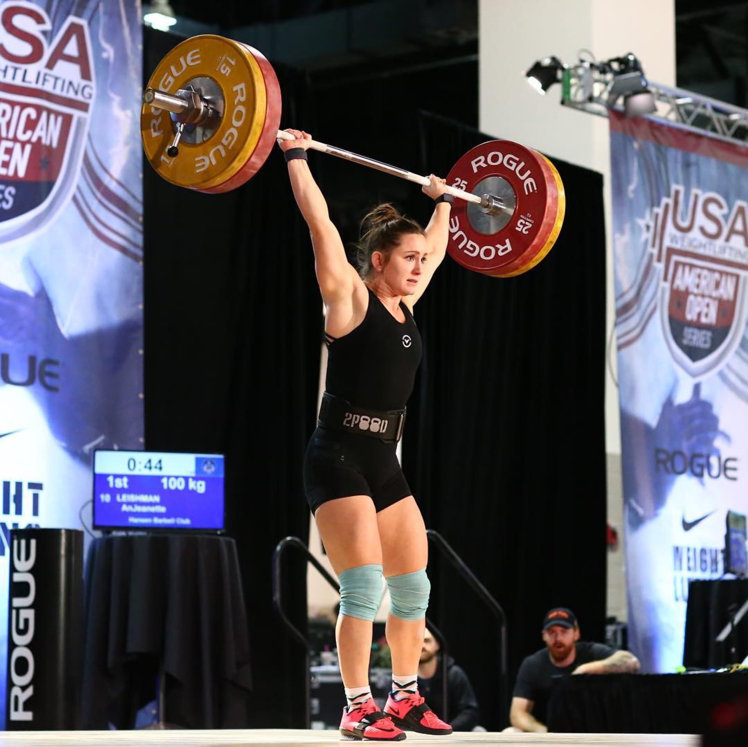 AnJeannette Lifting At The American Open