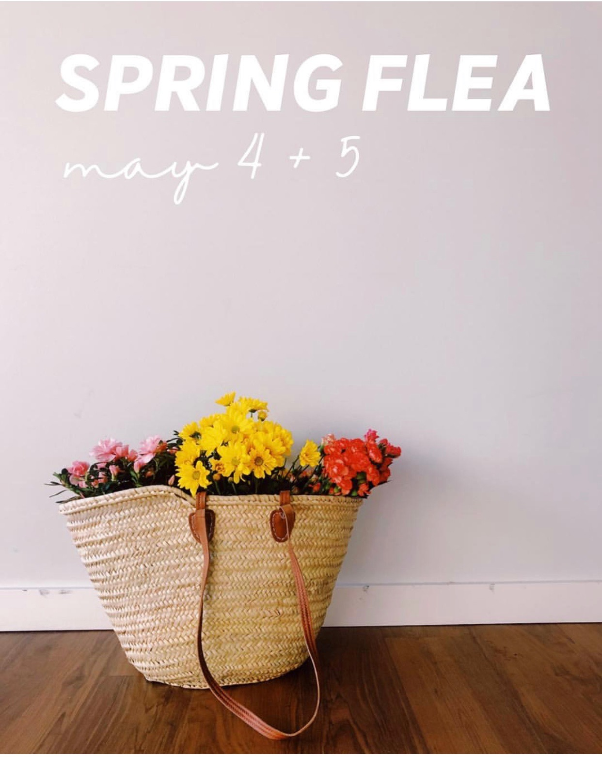 SPRING FLEA 2019    Saturday, May 4, 2019 (10am - 5pm)    Sunday, May 5, 2019 (10am - 4pm)    https://www.theclevelandflea.com/