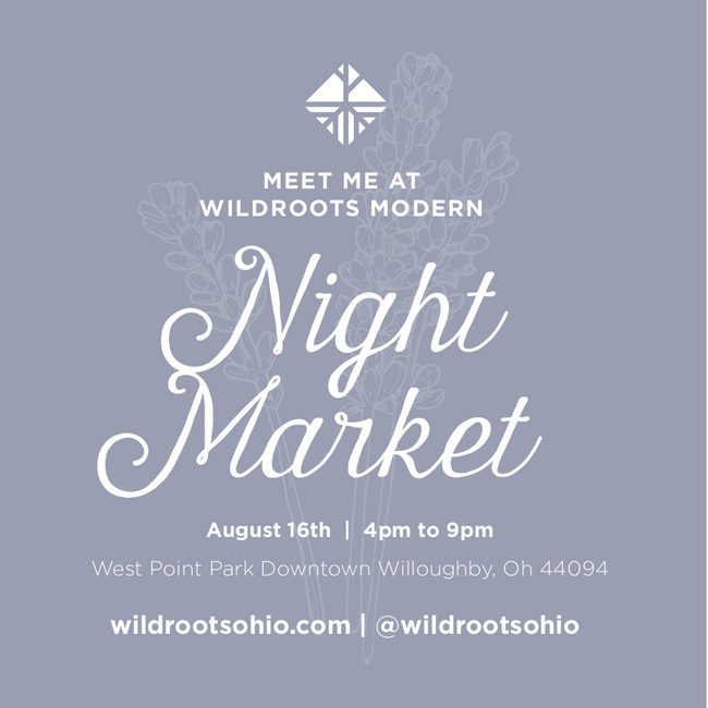 Wes Point Park, Euclid Ave & River St., Willoughby, Ohio 44094    https://www.wildrootsmodernmarket.com/