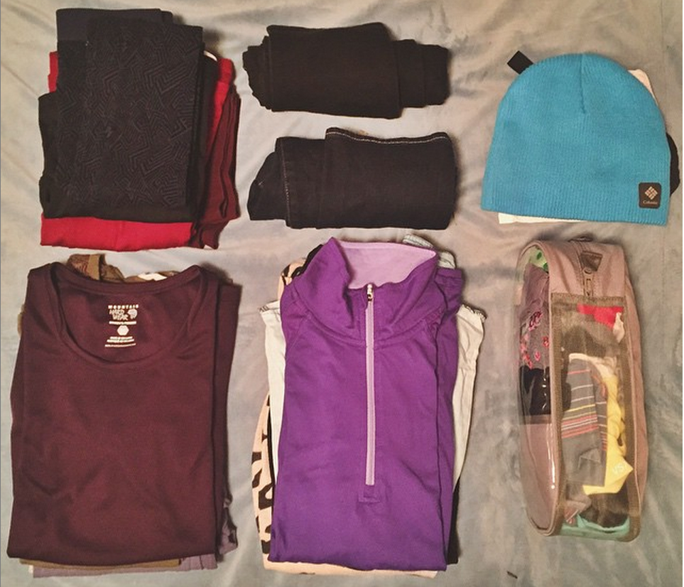 OREGON - Packing for six weeks in Morocco and Turkey. It's a constant battle to lighten the load.