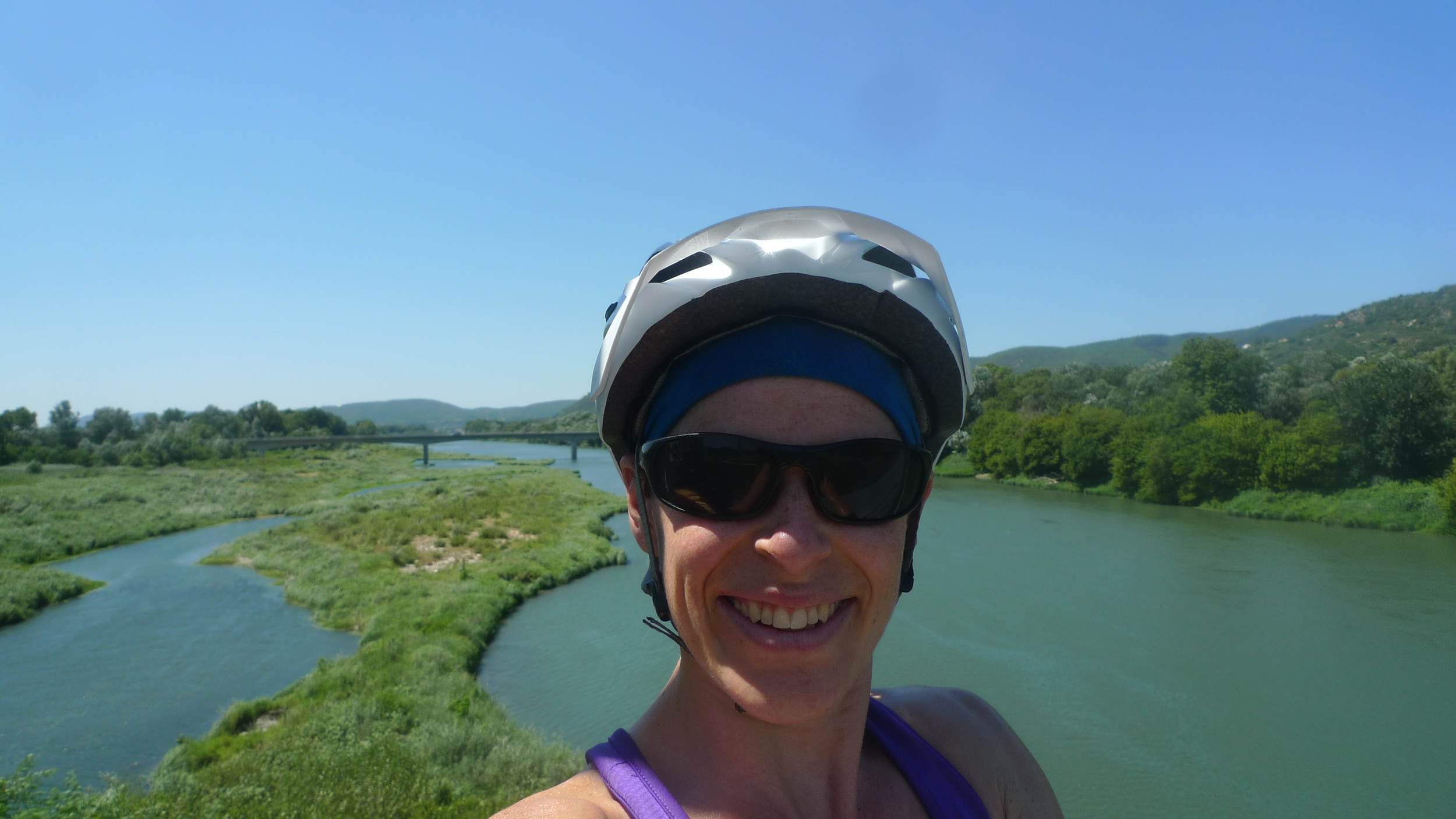 FRANCE - Biking the Rhone River