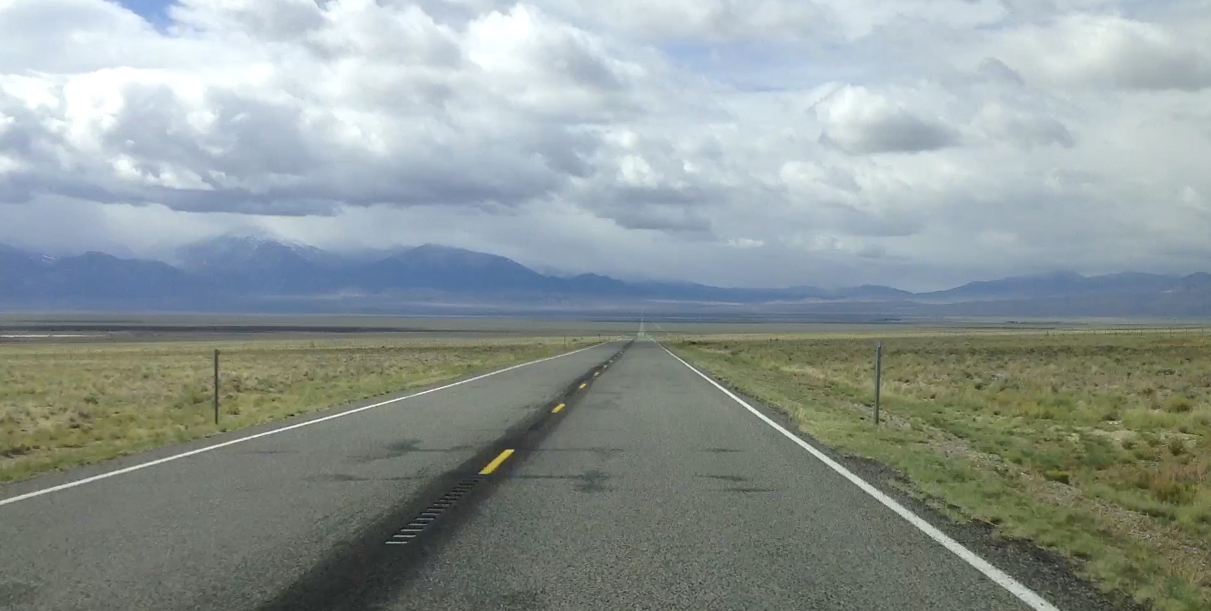 NEVADA - The Loneliest Road
