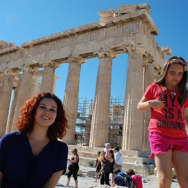 ATHENS, GREECE - Getting photobombed hardcore at the Parthenon on Acropolis
