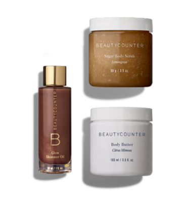 *Limited Edition* Shimmer & Shine Gift Set $68 | Shop via: beautycounter.com/tessweaver