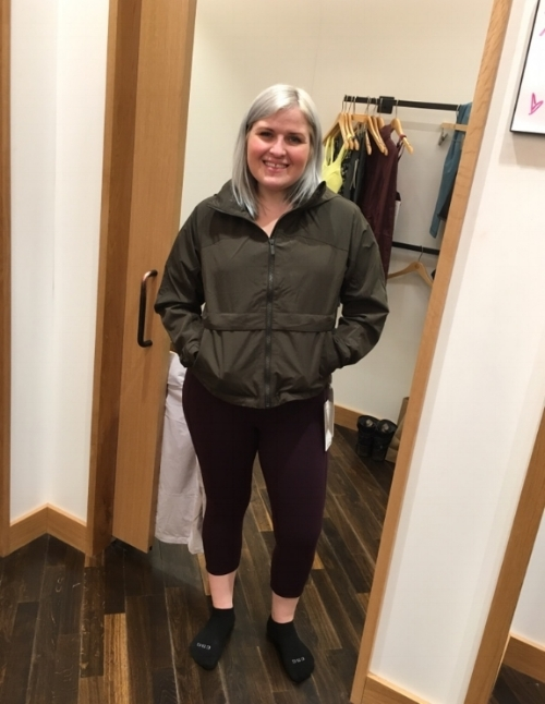 Me as a *Model* during my ultra fit sesh at lululemon Anchorage with ANNIE!