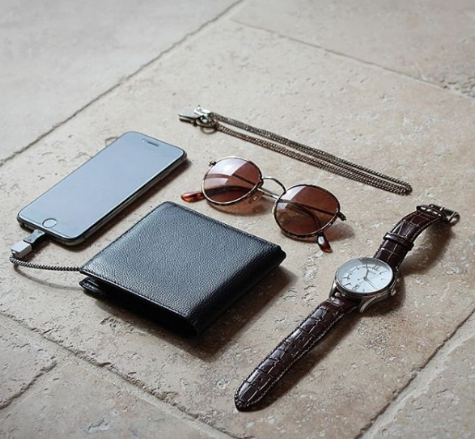 ORBIT Leather Phone Charging Wallet $110 - www.wilcolife.co