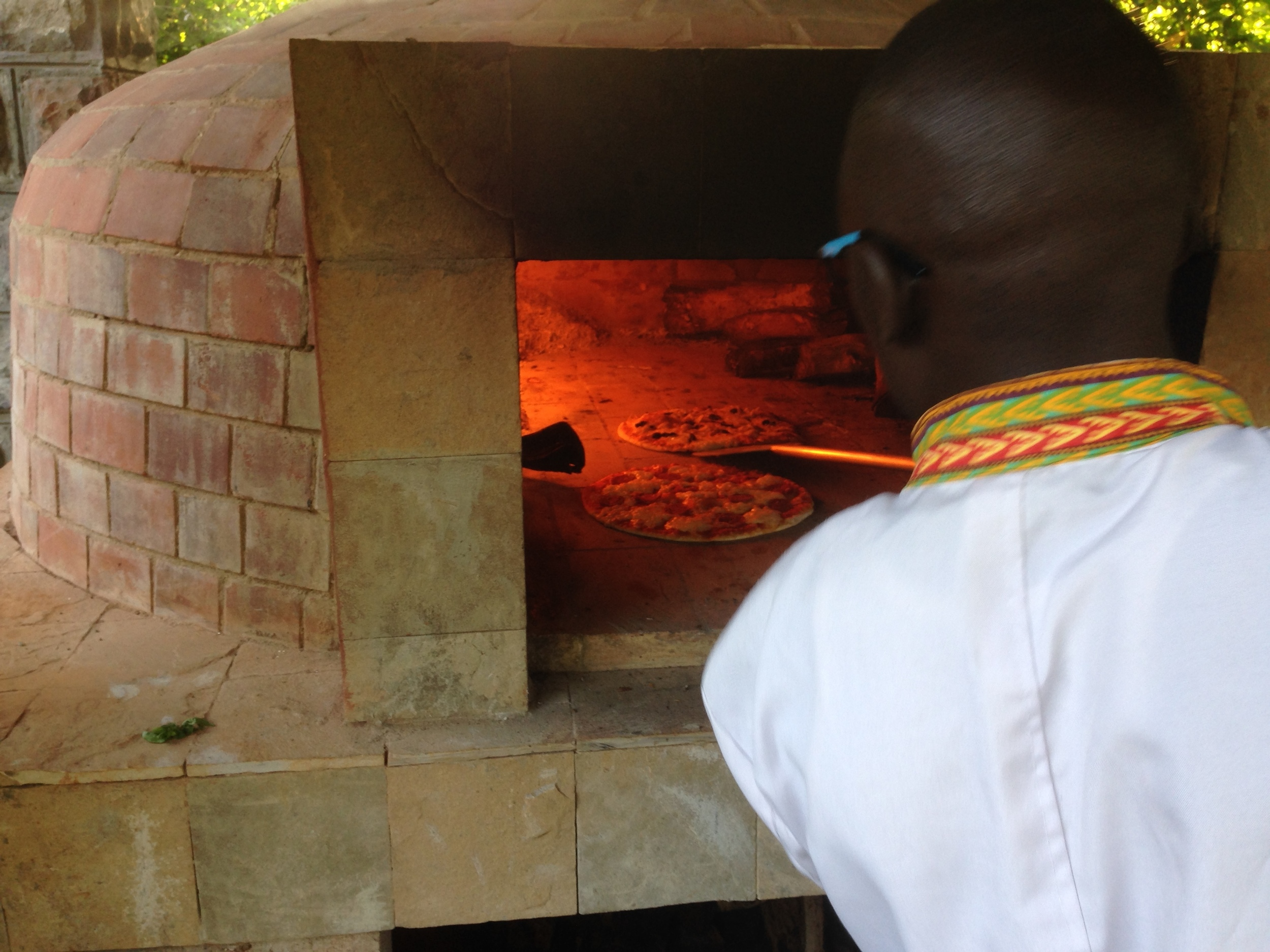 Pizza Oven Amani Gardens