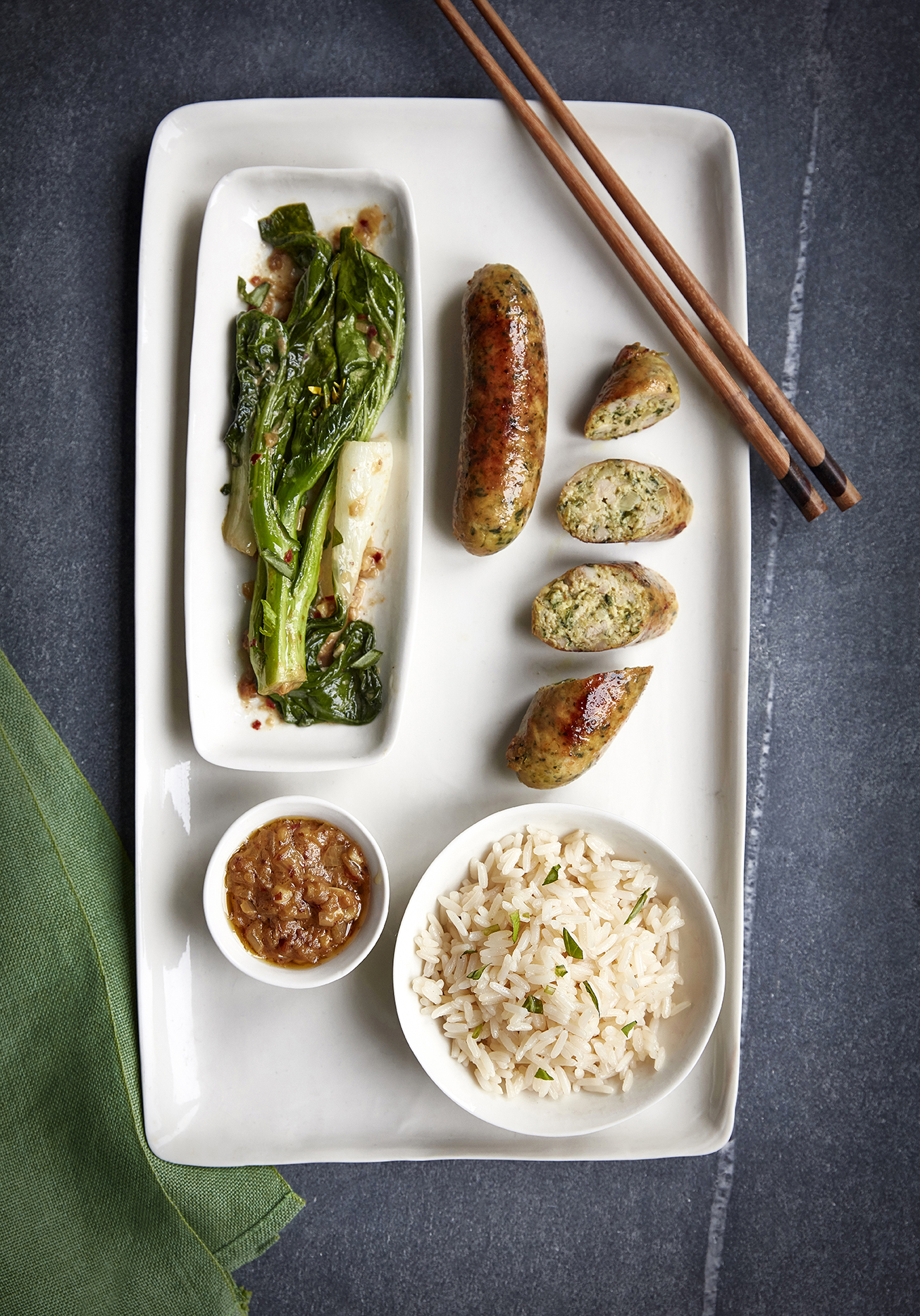 Asian sausage recipe