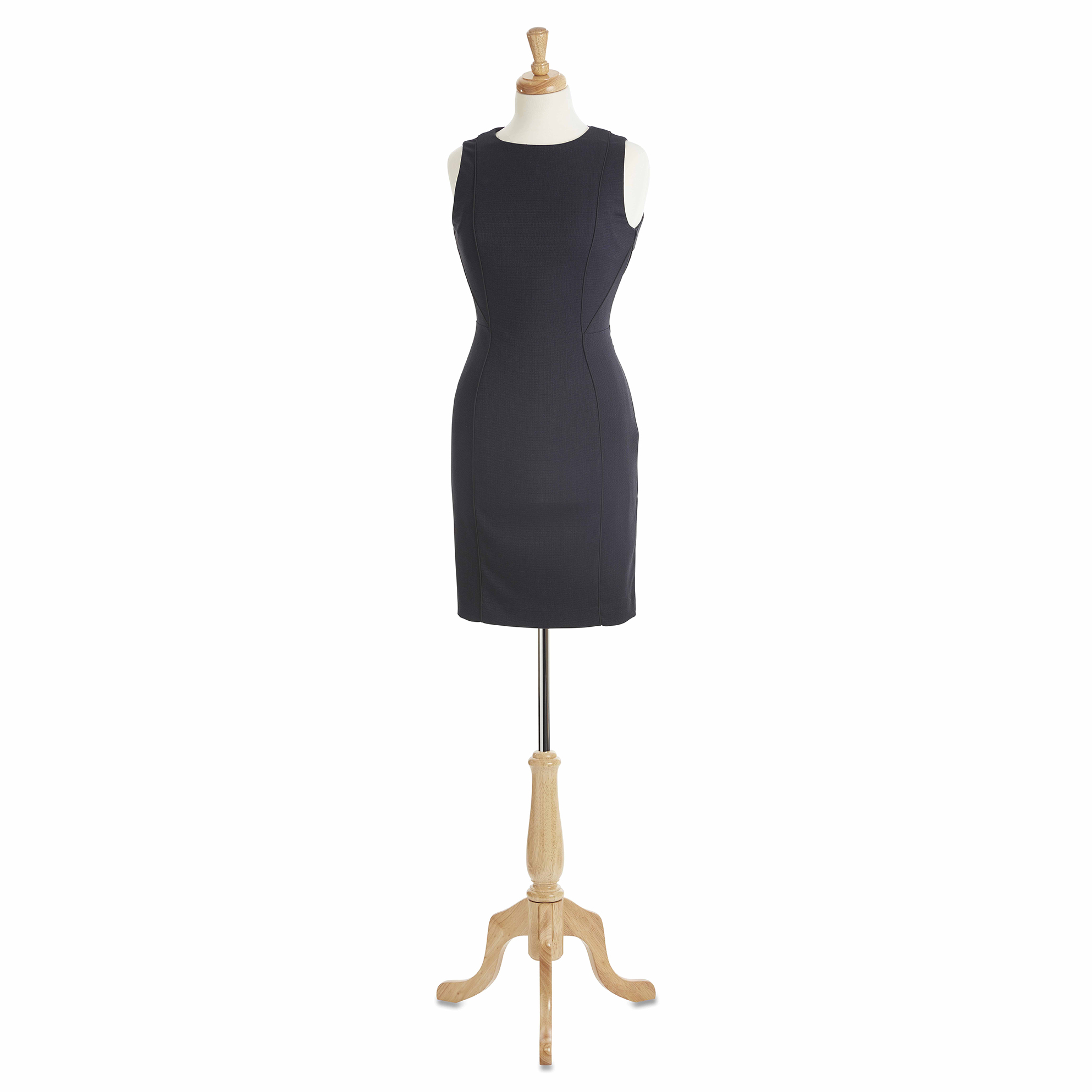 traditional wooden full length taylor dummy womens female mannequin packshot photography cut out clipping path white background product photography ecommerce photography still life drop shadow table top photography reflection.jpg